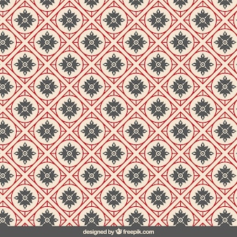 Geometric pattern in chinese style