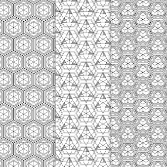 Geometric pattern collection theme