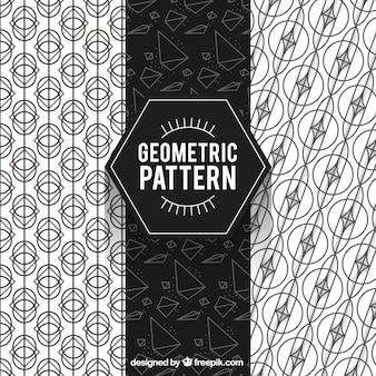 Geometric pattern, hexagon