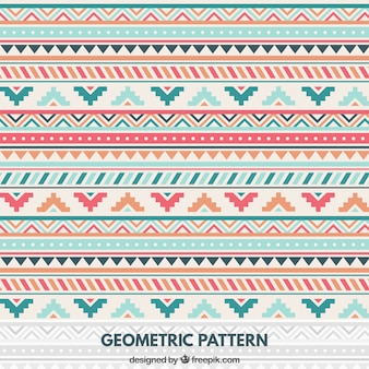 Geometric pattern in native style