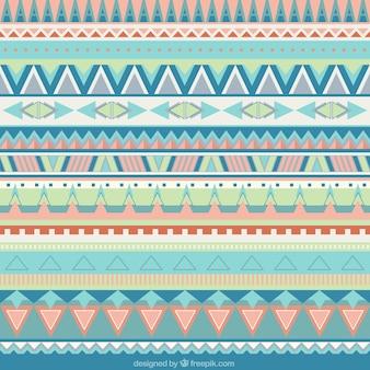 부드러운 색조의 기하학적 패턴