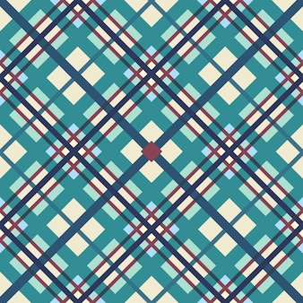 The geometric pattern of intersecting strips