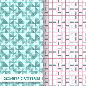Geometric pattern template