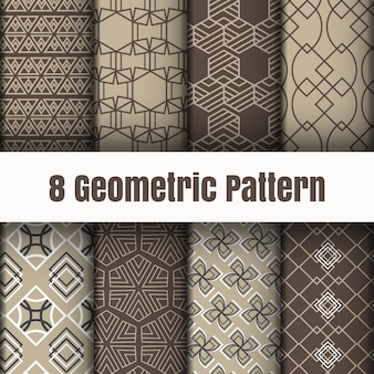 Geometric pattern wallpaper background surface textures