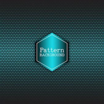 Geometric pattern with blue diamonds