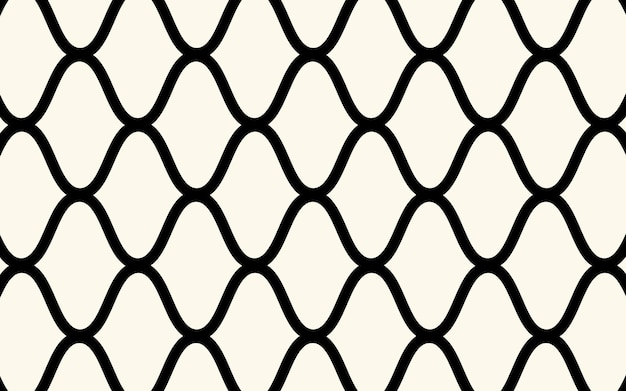 The geometric pattern with net lines. seamless vector background. white and black texture. graphic modern pattern. simple design