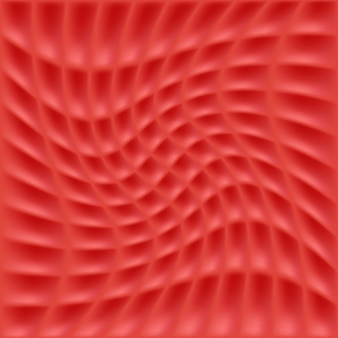 波のある幾何学模様