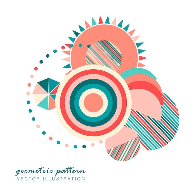 Geometric pattern.