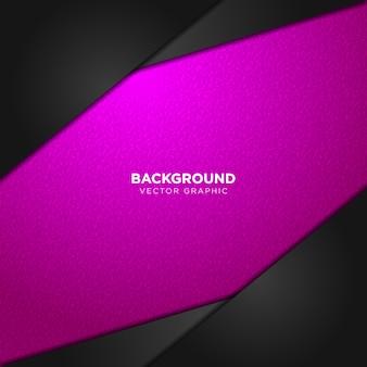 Геометрический розовый и черный фон