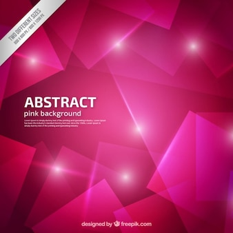 geometric pink background