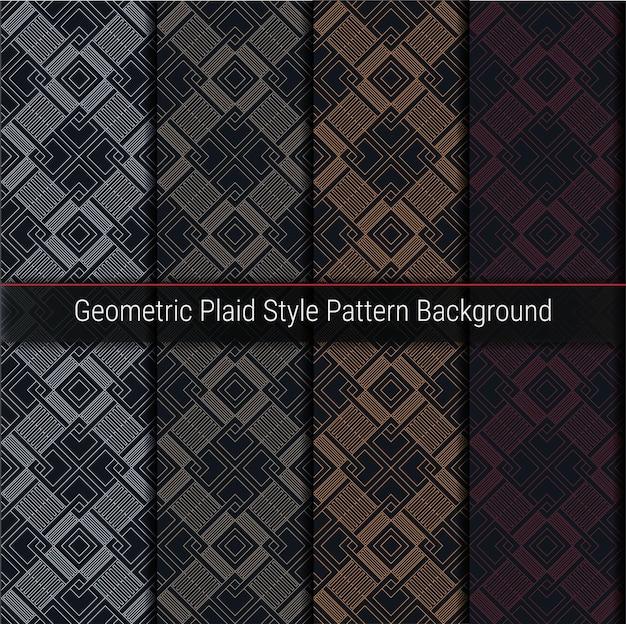 기하학적 격자 무늬 스타일 패턴 배경