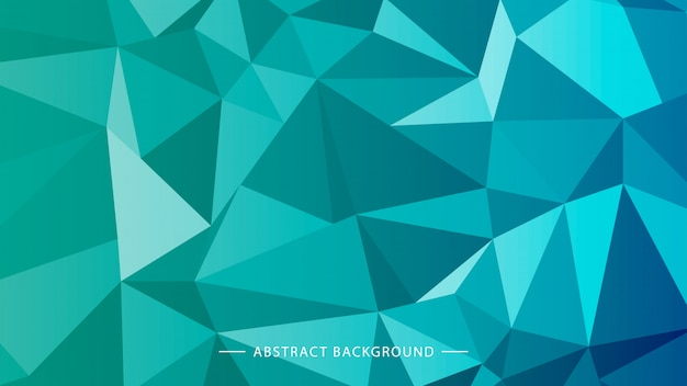 Geometric, polygonal light blue background for printing or web site