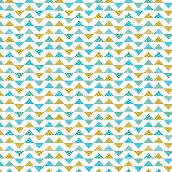 Geometric quilt pattern.