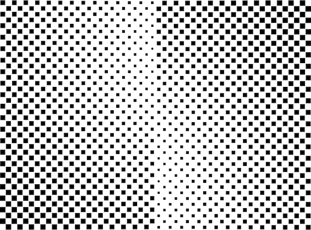 Geometric rectangle abstract halftone background