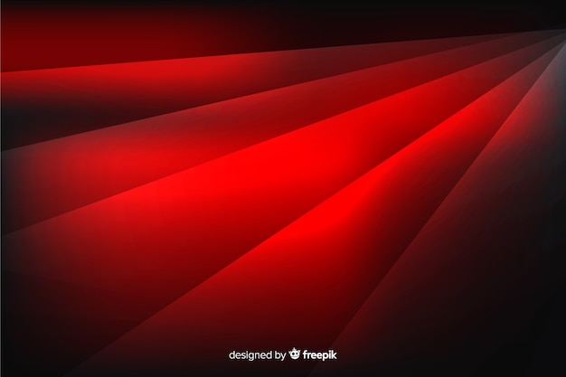 Geometric red shapes background