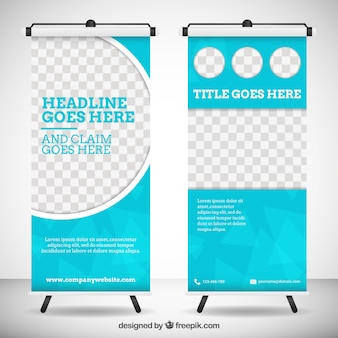 Roll Up Banner Vectors Photos And Psd Files Free Download