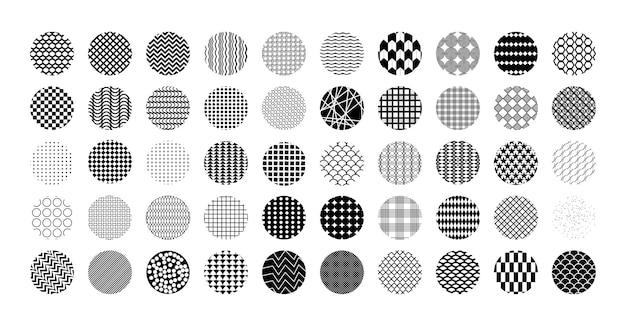 幾何学的な丸い背景