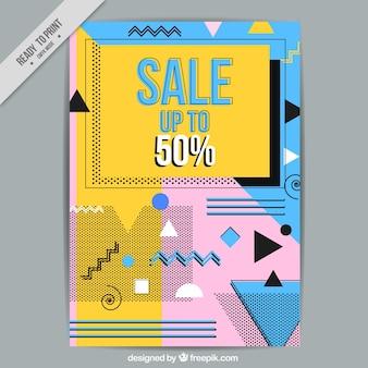 Brochure di vendita geometriche