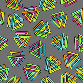 Geometric seamless abstract background