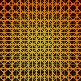 Geometric seamless cube pattern with rhombuses square