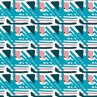 Geometric seamless hand draw folk pattern. weave lines ornament. backdrop for textile or book covers, wallpapers, design, graphic art, wrapping. vector illustration