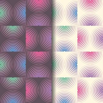 Geometric seamless pattern background. Premium Vector