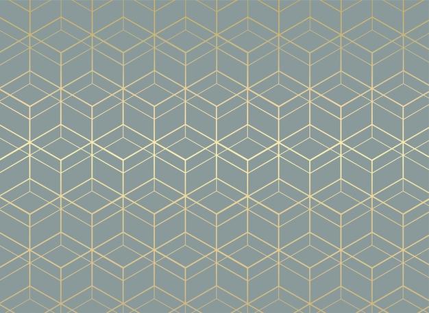 幾何学的なシームレスパターン背景