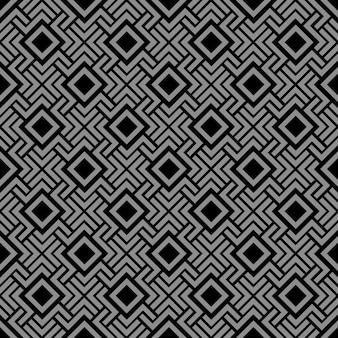 Geometric seamless pattern in celtic style