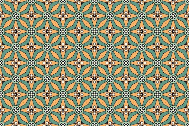 Motivo geometrico senza soluzione di continuità, elemento cerchio