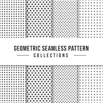Geometric seamless pattern collection