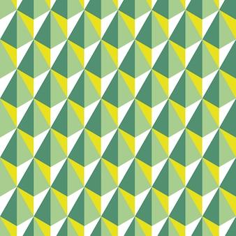 Geometric seamless pattern of hexagons in scandinavian style