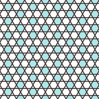 Geometric seamless pattern in islamic style