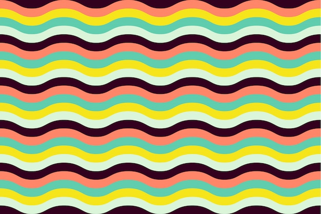 Geometric seamless pattern with abstract stripe