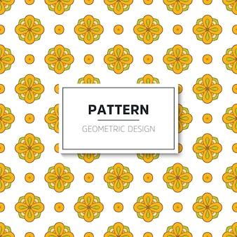 幾何学的なシームレスパターン