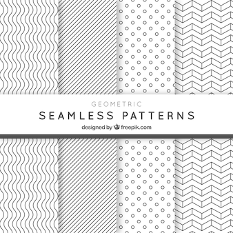 Geometric seamless patterns pack