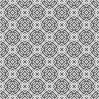 Geometric shape abstract seamless pattern