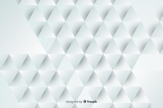 Geometric shaped paper background