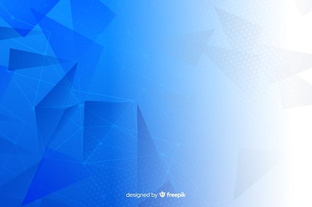 幾何学的図形の背景デザイン