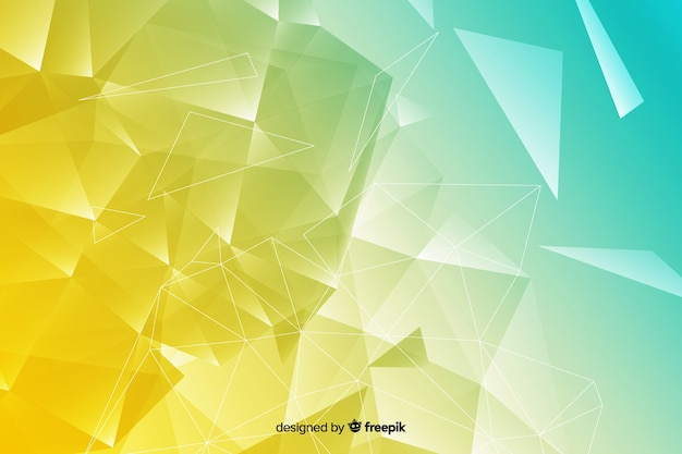 Geometric shapes background with abstract design