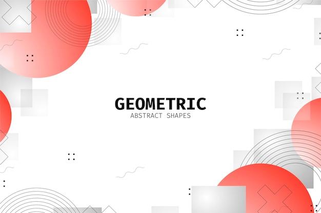 Фон геометрических фигур