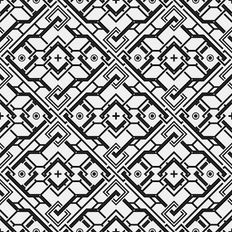 Geometric shapes pattern background