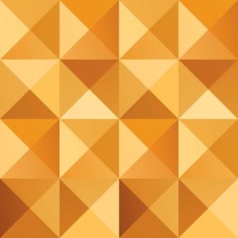 幾何学的なシンプルな黄金のシームレスな抽象的なパターン