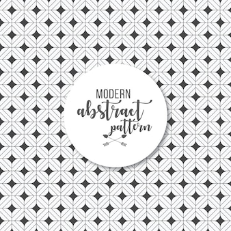 Geometric simple print black and white pattern background
