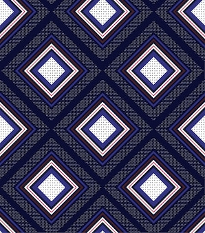 Geometric squares pattern