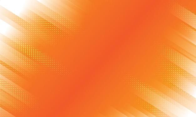 ハーフトーンの境界線を持つ幾何学的な縞模様の背景