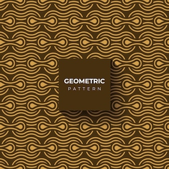 Geometric style gold background or pattern
