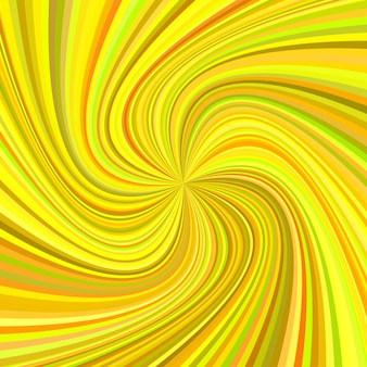 Geometric swirl background - vector illustration from rotated rays in colorful tones