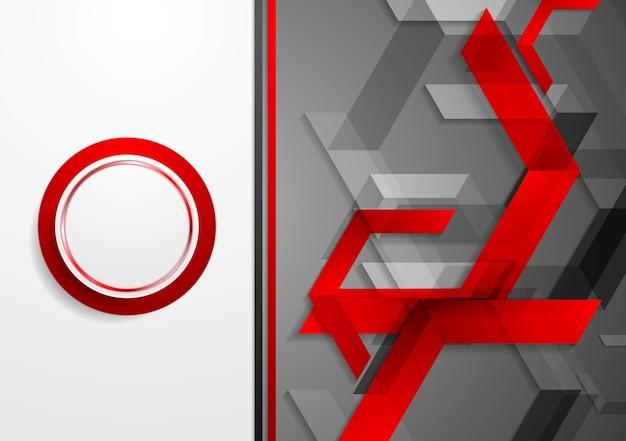 Предпосылка элементов геометрической технологии. векторная иллюстрация для дизайна брошюры