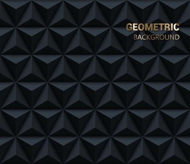 幾何学的な三角形のパターン