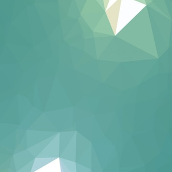 Geometric triangular background in low poly style